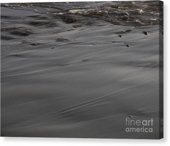 Receding Waters Canvas Print