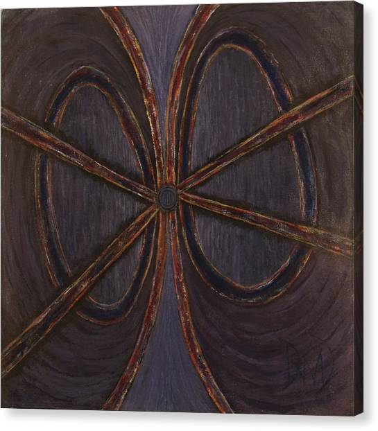Recession Ribbon Canvas Print by David Douthat