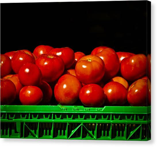 Red And Ripe Canvas Print