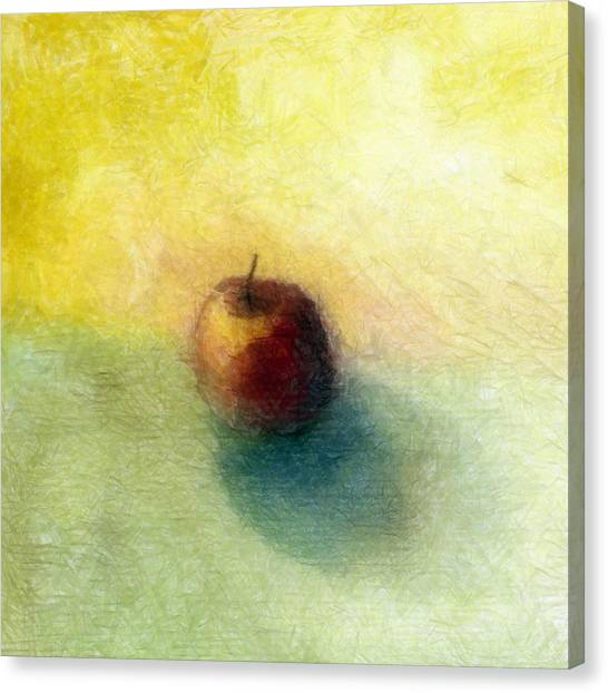 Red Apple No. 4 Canvas Print