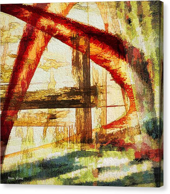 Red Arches Canvas Print