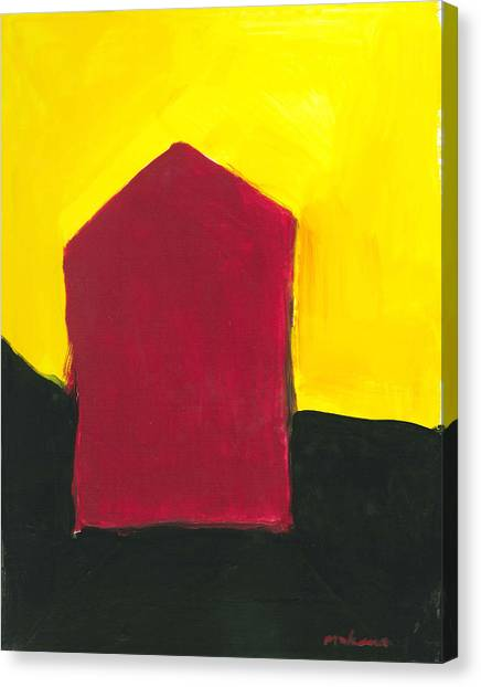Red Arthouse Canvas Print