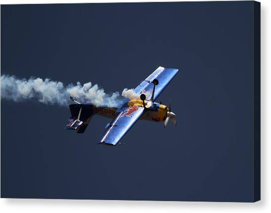 Red Bull - Inverted Flight Canvas Print