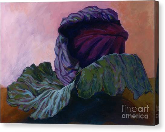 Red Cabbage Canvas Print