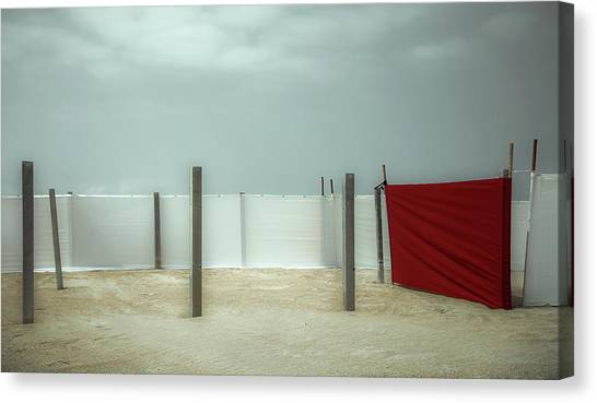 Belgium Canvas Print - Red Canvas by Gilbert Claes
