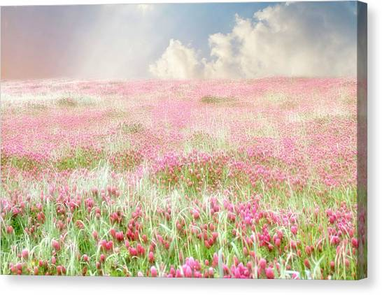 Clover Canvas Print - A Perfect World by Amy Tyler
