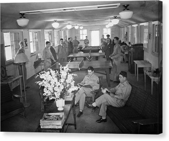 Red Cross Club, 1943 Canvas Print by Granger