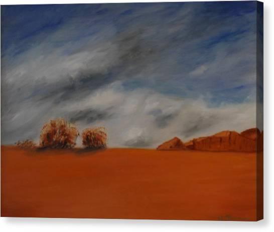 Red Desert Canvas Print