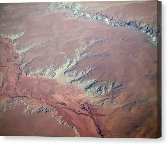 Red Earth Canvas Print by Pamela Schreckengost