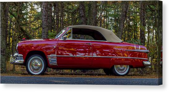 Red Ford Canvas Print by Capt Gerry Hare