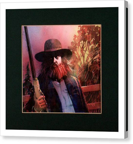 Red Headed Stranger Canvas Print