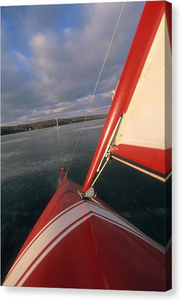 Red Hot Ride - Lake Geneva Wisconsin Canvas Print