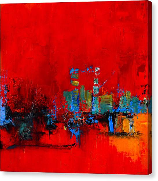 Red Inspiration Canvas Print