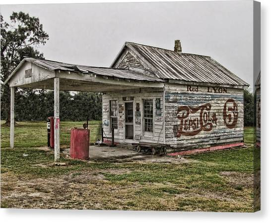 Red Lyon Country Store Canvas Print