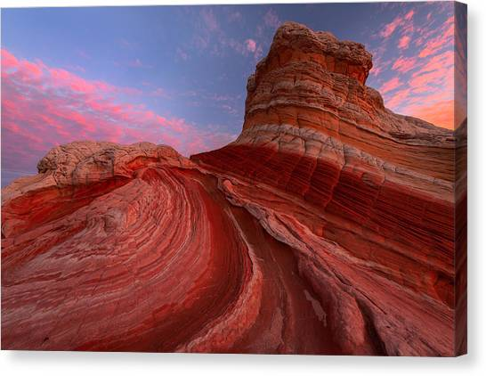 Desert Sunrises Canvas Print - Red Planet by Joseph Rossbach