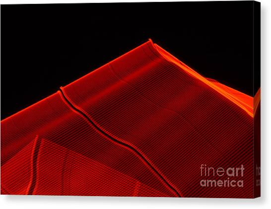 Red Pyramids 1 Canvas Print