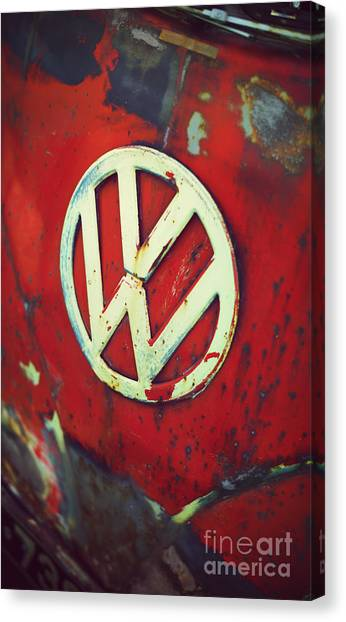 Front End Canvas Print - Red Rat Dub by Tim Gainey