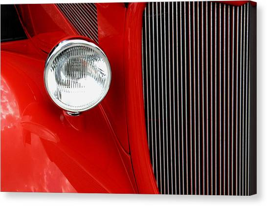 Red Red Roadster Canvas Print
