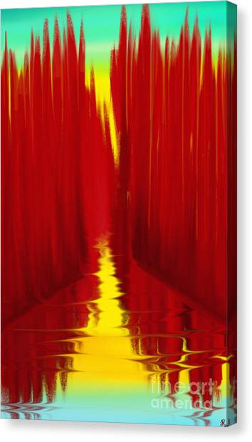 Red Reed River Canvas Print
