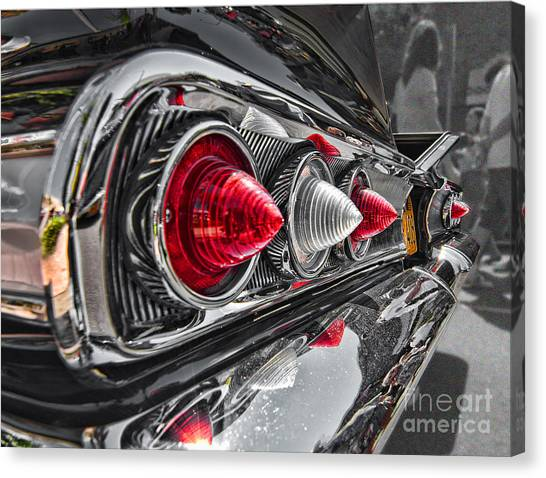 Red Reflection Canvas Print by Hot Rod Pics