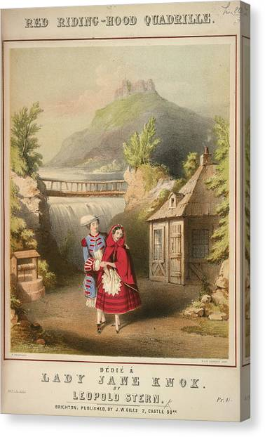 Music Genres Canvas Print - Red Riding-hood Quadrille by British Library