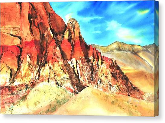 Red Rock #1 Canvas Print