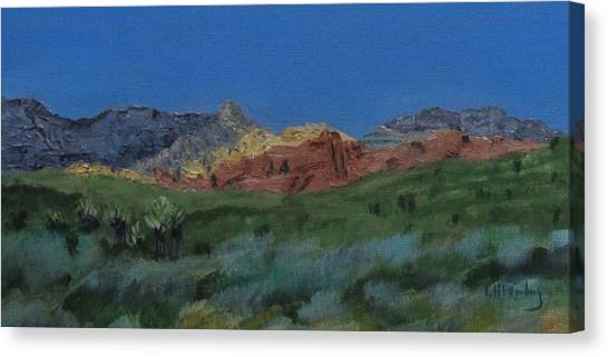 Red Rock Canyon Panorama Canvas Print