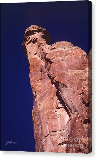 Red Rock Spier Canvas Print