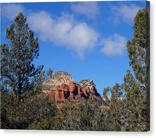 Red Rock Vista Canvas Print