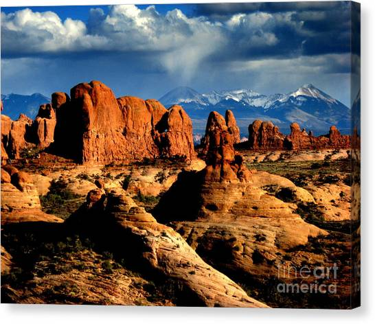 Red Rocks Canvas Print