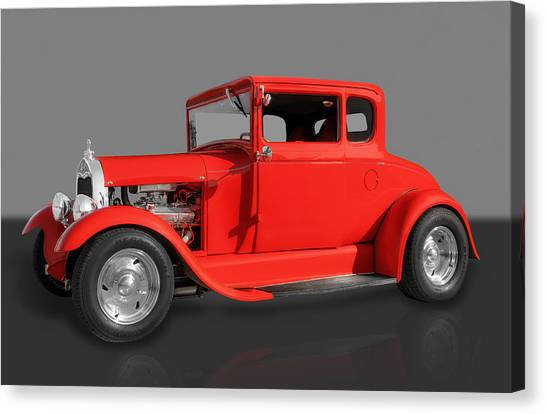 1930 Ford Canvas Print by Frank J Benz