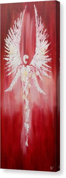 Red Sentinel Canvas Print
