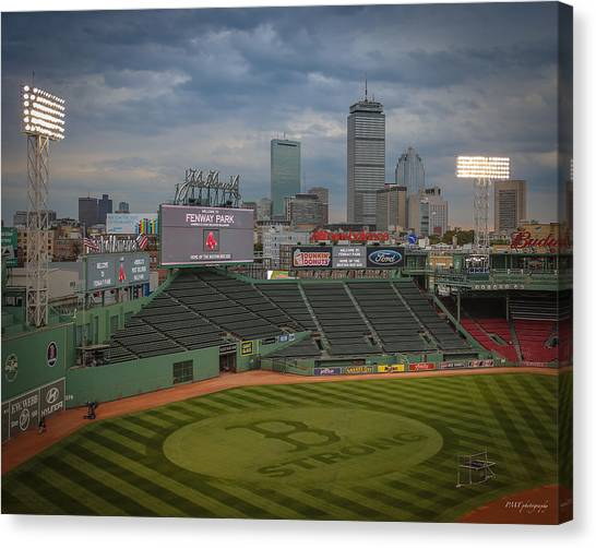 Red Sox Strong Canvas Print