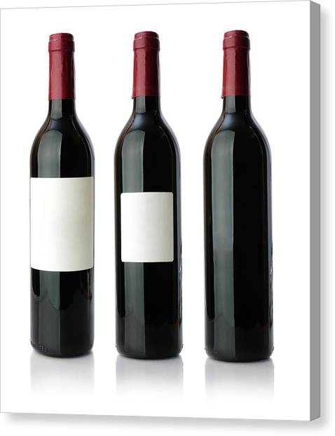 Red Wine Bottle Xxxlarge Canvas Print