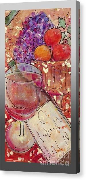Red Wine II Canvas Print