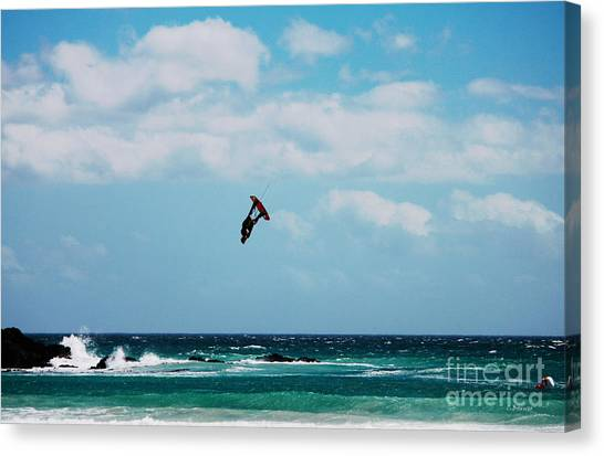Redbull King Of The Air Competition Cape Town South Africa Canvas Print by Charl Bruwer