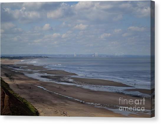 Redcar From A Distance Canvas Print