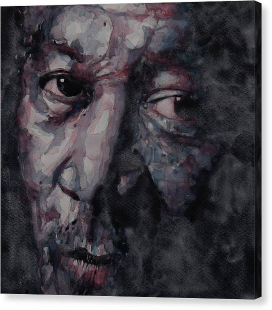 Nose Canvas Print - Redemption Man by Paul Lovering