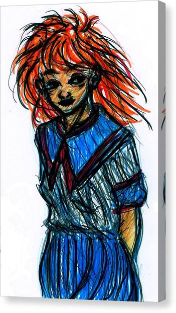 Redhead II Canvas Print
