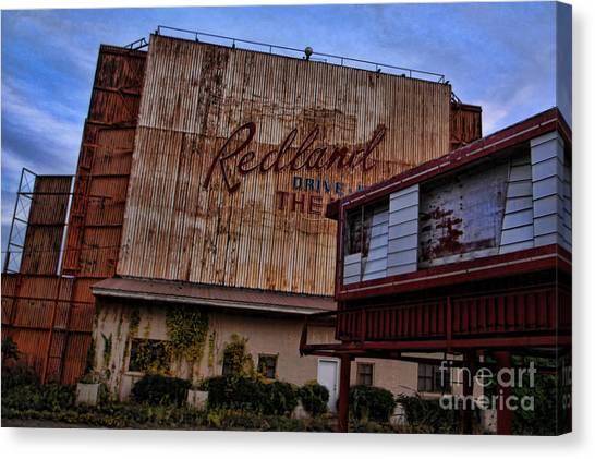 Redland Drive In Theatre Canvas Print