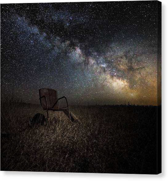 Pollution Canvas Print - Redneck Planetarium by Aaron J Groen