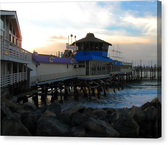 Redondo Beach Pier Canvas Print