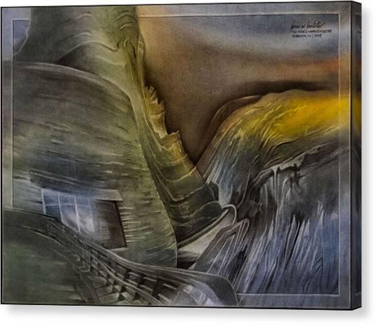 Redrocksamphiscape 2010 Canvas Print