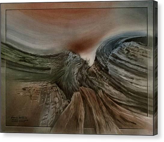 Redrockscapeb 2010 Canvas Print