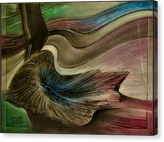 Redrockspalmfrondcomp 2010 Canvas Print