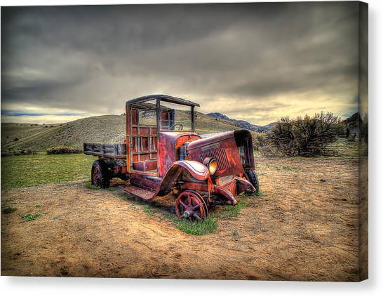 Redtired Canvas Print