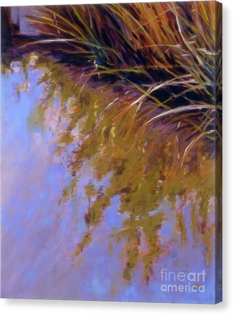 Reeds - No. 1 Canvas Print