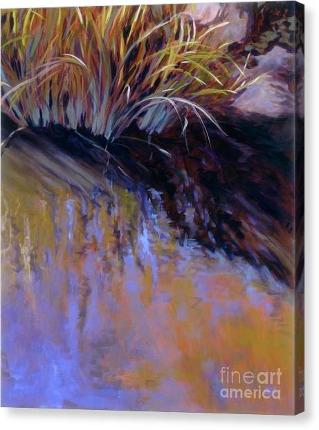 Reeds- No. 2 Canvas Print