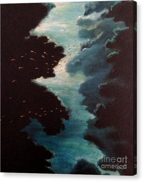 Reef Pohnpei Canvas Print