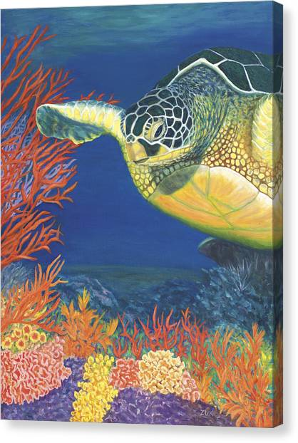 Reef Rider Canvas Print